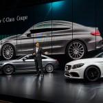 Ola Källenius, Vorstandsmitglied der Daimler AG, verantwortlich für Mercedes-Benz Cars Vertrieb präsentiert das neue C-Klasse Coupé. Foto: Daimler / news2do.com
