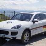 Besonders sparsam unterwegs im Porsche Cayenne S E-Hybrid. Foto: http://news2do.com