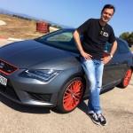 Ralf Schütze fährt den 280 PS starken Seat Leon SC Cupra auf dem Circuito Mallorca. Foto: Seat / news2do.com