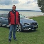 Lars Hoenkhaus testet den neuen VW Passat Alltrack. Foto: http://news2do.com
