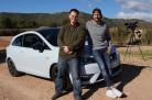Tom Beck und Brian Hayes testen den neuen Seat Ibiza Cupra Modelljahr 2016. Foto: http://news2do.com