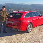 Brian Hayes test drives the new Audi A4 Avant. Picture: http://news2do.com
