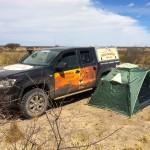 Amarok Adventure 2015: Nachtlager mitten in der Kalahri. Foto: VW / http://news2do.com