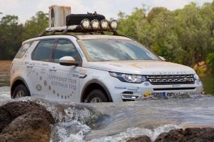 Der Discovery Sport schafft eine Wattiefe von bis zu 60cm. Foto: Adventure Press / http://news2do.com