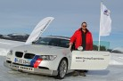 BMW Driving Experience 2014 - BMW M3 und Spikes auf Eis. Foto: BMW / http://news2do.com