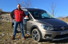 Im Test: Volkswagen Caddy Alltrack  TDI 4Motion, Modell 2016. Foto: http://news2do.com