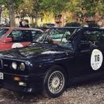 BMW M3 E30 Cabrio vor dem Start