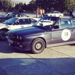 BMW E30 M3 Cabrio neben BMW M1